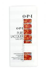 Pachet 16 Abtibilduri Pentru Unghii OPI Pure Lacquer - Peacock0