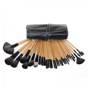 Set de 32 Pensule Profesionale din Par Natural Top Quality Hair - WOOD2