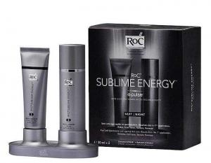 Set Noapte pentru Reintinerire RoC Sublime Energy E-Pulse, 2x30 ml