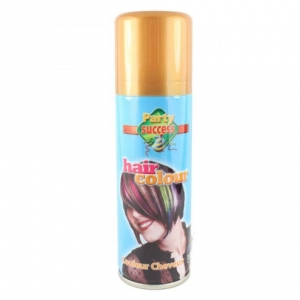 Spray Auriu Cu Efect Mat Pentru Par Party Succes, 125 ml