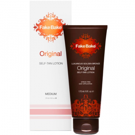 Lotiune Autobronzanta Profesionala FAKE BAKE Original Self-Tan Lotion, Medium, 170 ml