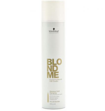 Spray fixativ Schwarzkopf BlondMe Glorious Hold Hairspray, 300 ml