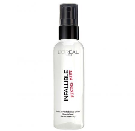 Spray Pentru Fixarea Machiajului L'Oreal Infallible Fixing Mist Makup Finishing Spray, 100 ml
