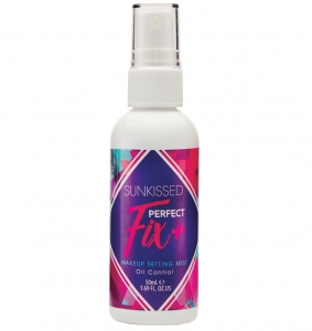 Spray Pentru Fixarea Machiajului Sunkissed Fix Perfect Oil Control, 62 ml