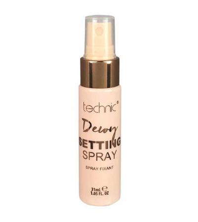 Spray fixator machiaj cu cocos TECHNIC Dewy Setting Spray, 31 ml