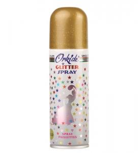 Spray Stralucitor AURIU Pentru Par Si Corp Orkide Glitter Spray, 90 ml