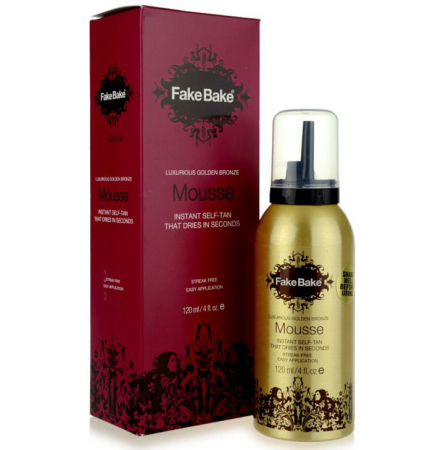 Spuma Autobronzanta Profesionala FAKE BAKE Instant Luxurious Golden Bronze, 120 ml