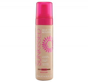 Spuma Autobronzanta Profesionala SUNKISSED Self-tan, Medium, 95% Ingrediente Naturale, 200 ml