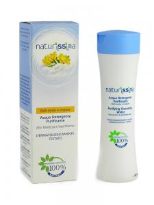 Spuma De Curatare Naturissima Pentru Tenul Mixt Si Acneic-200 ml