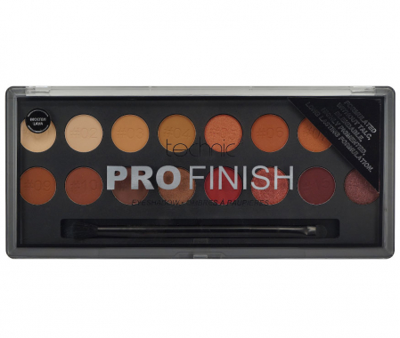 Paleta Profesionala de Farduri Technic PRO Finish Eyeshadow, Molten Lava2