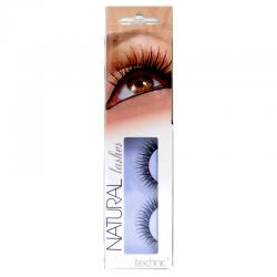 Gene False cu Aspect Natural TECHNIC Natural Lashes, adeziv inclus BC19