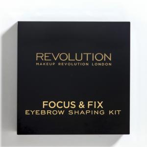Kit Pentru Sprancene MAKEUP REVOLUTION Focus & Fix - Medium  Dark1