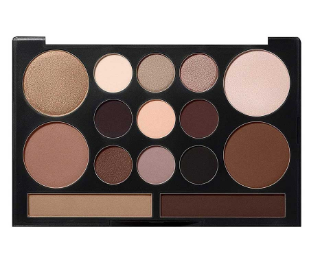 Paleta Profesionala Machiaj NYX Professional Makeup LOVE CONTOURS ALL Eye & Face Sculpting Palette1