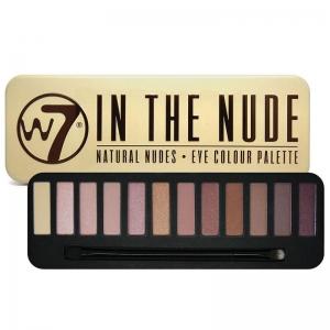 Trusa Profesionala cu 12 Farduri W7 Natural Nudes - In The Nude