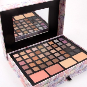 Trusa Profesionala pentru Machiaj Miss Rose Deluxe Shimmer & Matte, 85 culori, Imperial Flowers5