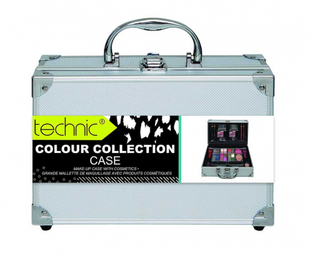 Valiza completa pentru Machiaj Technic Colour Collection Case 9972411