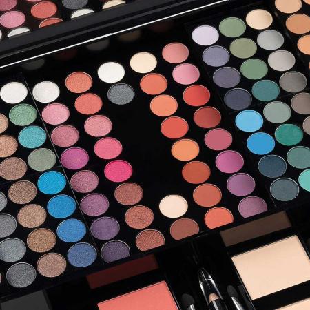 Trusa Profesionala Machiaj cu 190 culori MISS ROSE Blockbuster Piano MakeUp Palette1