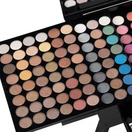 Trusa Profesionala Machiaj cu 190 culori MISS ROSE Blockbuster Piano MakeUp Palette2