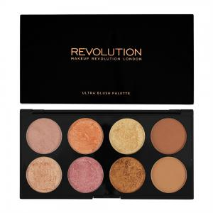 Paleta Cu 8 Blush-uri MAKEUP REVOLUTION Ultra Blush Golden Sugar 2, Rose Gold1