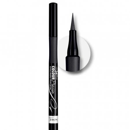 Tus de ochi carioca Rimmel London Colour Precise Eyeliner, 001 Black1