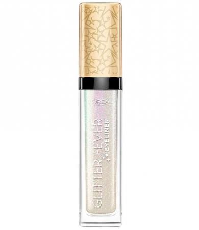 Tus de ochi cu sclipici L'Oreal Paris Glitter Fever Eyeliner, 01 Holographic Show, 6.5 ml