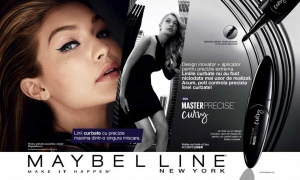 Tus De Ochi Lichid Maybelline MasterPrecise Curvy - 01 Black, 0.5 gr2