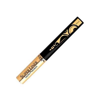Tus De Ochi Pentru Luminozitate L'OREAL Super Liner Ultra Precision - Gold (Auriu)0