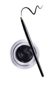 Gel Contur de Ochi cu Pensula Ultra-Rezistent Ushas Gel Eyeliner, Negru