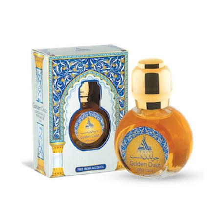 Ulei de parfum arabesc HAMIDI Golden Dust Perfume Oil, formula concentrata, 15 ml