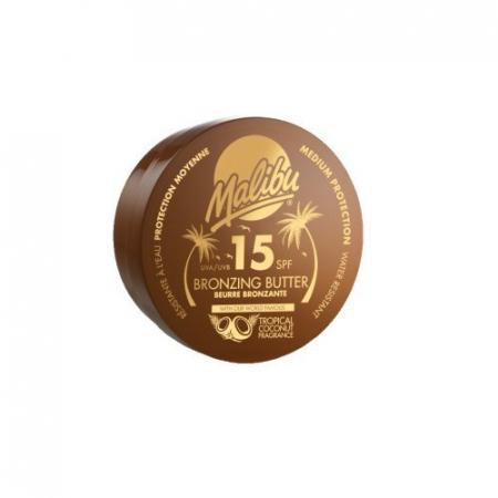 Unt De Corp Pentru Accelerarea Bronzului MALIBU Bronzing Butter, SPF15, 250 ml