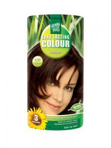 Vopsea de Par HennaPlus Long Lasting Colour - Auburn 4.56