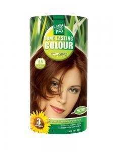 Vopsea de Par HennaPlus Long Lasting Colour - Mahogany 5.50