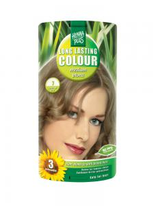 Vopsea de Par HennaPlus Long Lasting Colour - Medium Blond 7