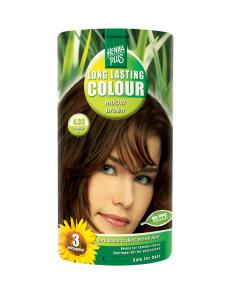 Vopsea de Par HennaPlus Long Lasting Colour - Mocha Brown 4.030