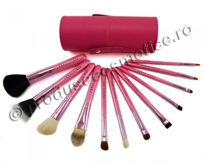 Set de 12 Pensule Profesionale Fraulein38 Pink Extravaganza-big