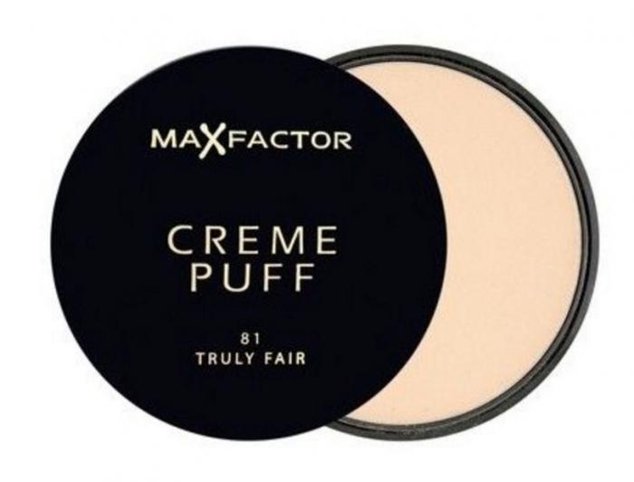 Pudra Max Factor Creme Puff - 81 Truly Fair-big