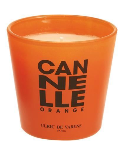 Candela Parfumata Luxury Edition ULRIC DE VARENS - Canelle Orange-big