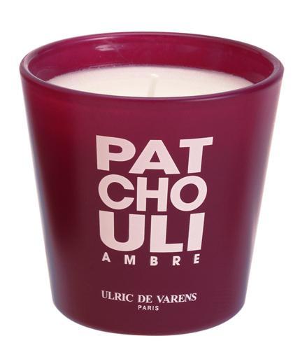 Candela Parfumata Luxury Edition ULRIC DE VARENS - Patchouli Ambre-big
