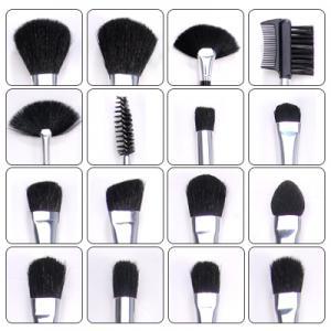 Set de 32 Pensule Profesionale din Par Natural Fraulein38 Studio Black-big