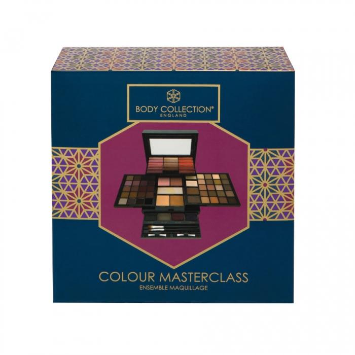 Kit complet pentru machiaj Body Collection England, Colour Masterclass, 74 de culori-big