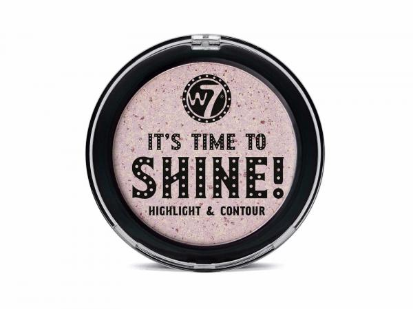 Iluminator pentru Conturare si Evidentiere W7 It's Time To Shine! Highlight & Contour-big