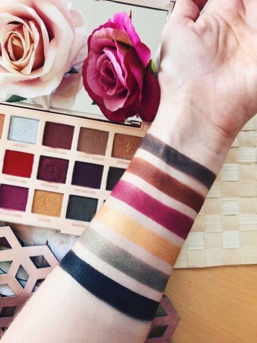 Paleta de farduri Makeup Revolution Soph X Eyeshadow Palette, Extra Spice, 18 Nuante-big