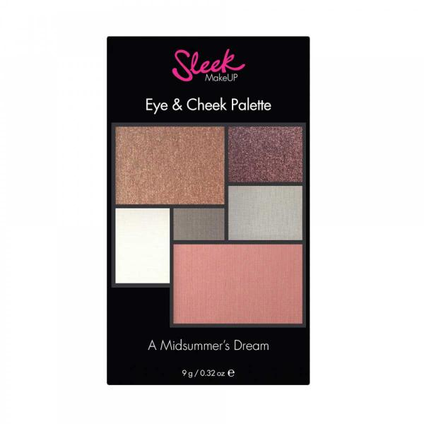 Paleta pentru machiaj SLEEK MakeUP Eye & Cheek Palette - 031 A Midsummer's Dream, 9g-big