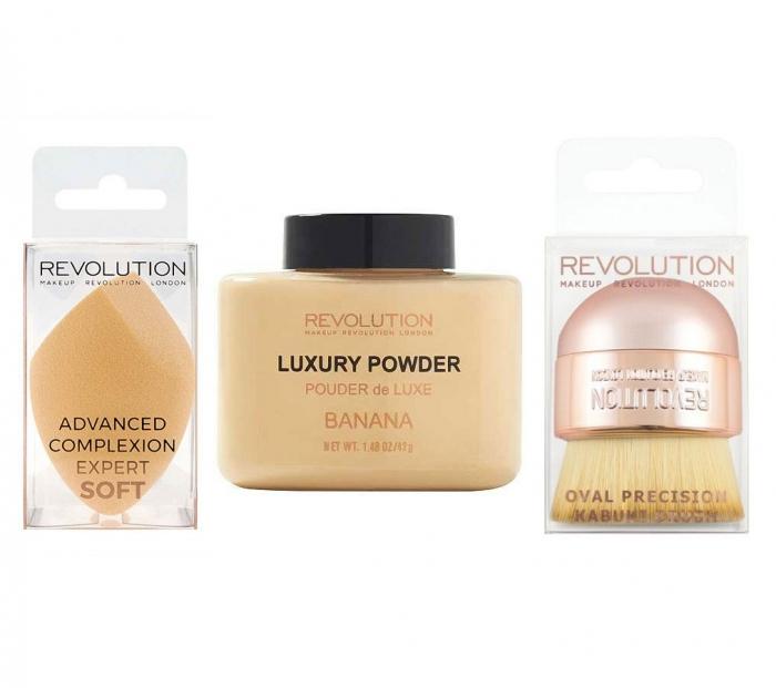 Set Pentru Conturare si Matifiere BANANA Makeup Revolution-big