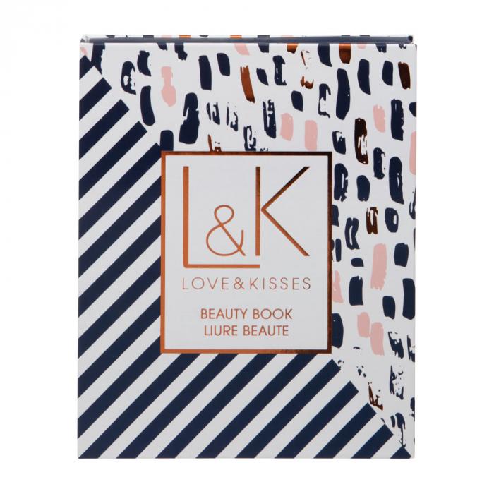 Set Carte Cadou cu Makeup Technic Love & Kisses Beauty Book-big