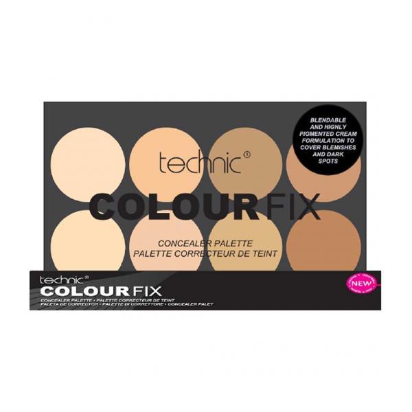 Trusa Profesionala Anti-Cearcane Cu 8 Corectoare Cremoase TECHNIC Colour Fix Light, 8x3.5g-big