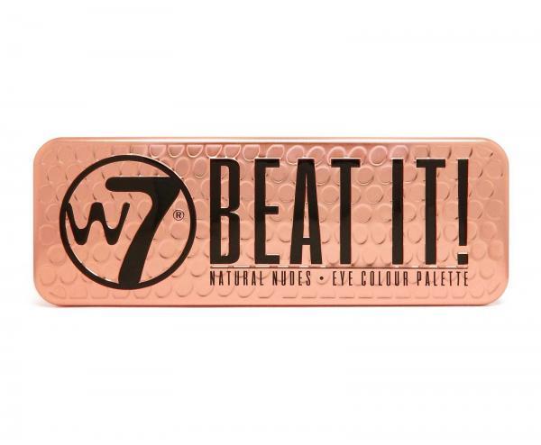 Trusa Profesionala cu 12 Farduri W7 Natural Nudes - Beat It!, 15.6g-big