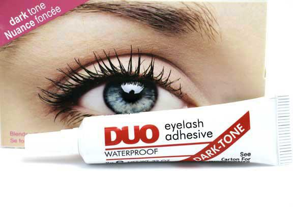 Adeziv Profesional Gene False DUO Eyelash Waterproof - Dark Tone-big