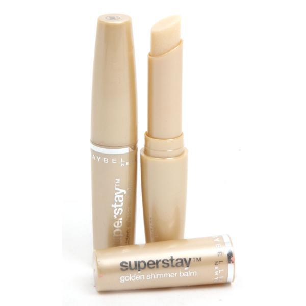 Balsam de buze -Maybelline Superstay-Golden Shimmer Balm-big