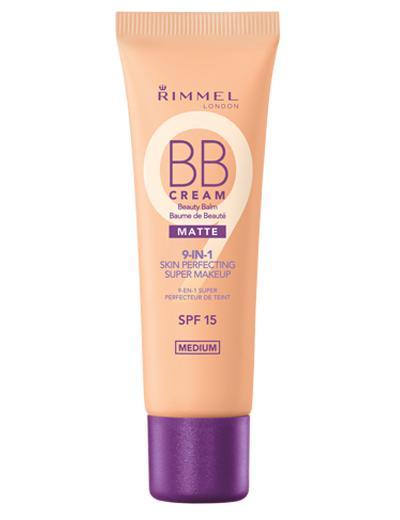 BB Cream 9 in 1 Rimmel Skin Perfecting MATTE - 002 Medium-big